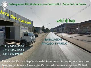 COPACABANA EMBALAGENS - Caixas de Papelão RJ - Rio Embalagens - RJ